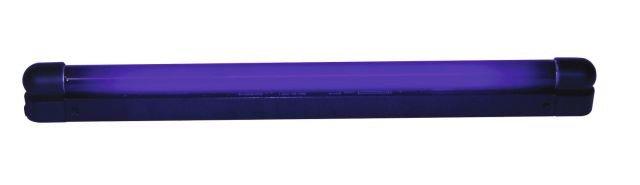 UV tube complete fixture 45cm 15W slim.