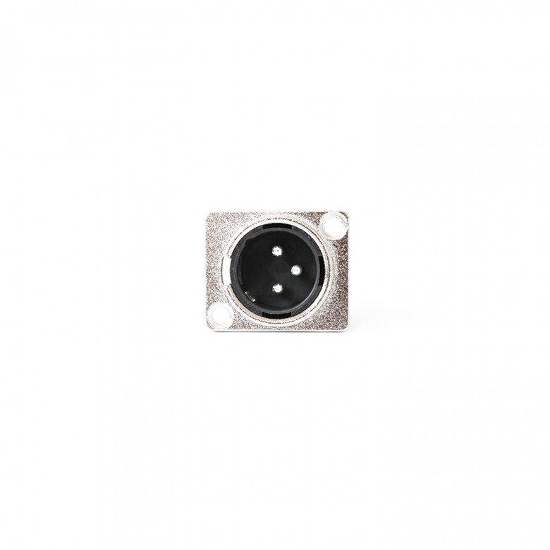 Pro-Show Connettore XLR Maschio da Pannello 10pz