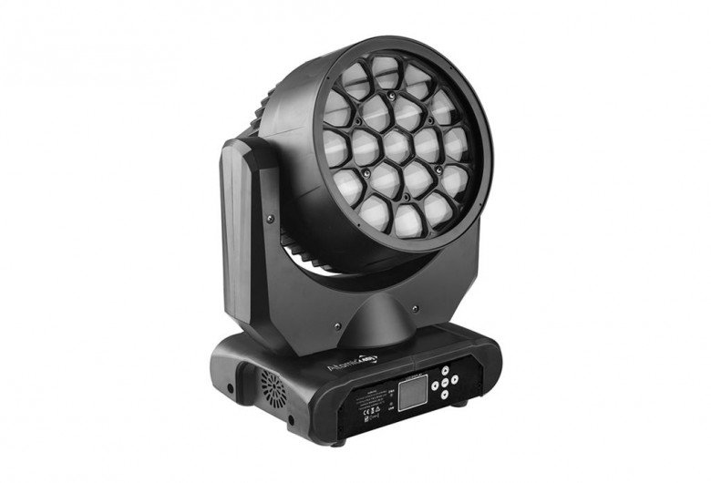 Testa Mobile Led Lotus PixStar, Atomic4DJ