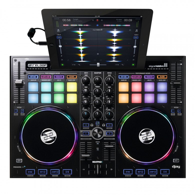 Reloop BeatPad2 Professional DJ controller for iPad, Mac/PC and Android