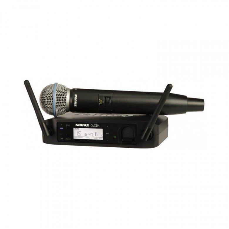 Shure GLXD24E BETA58 A microfono per voce