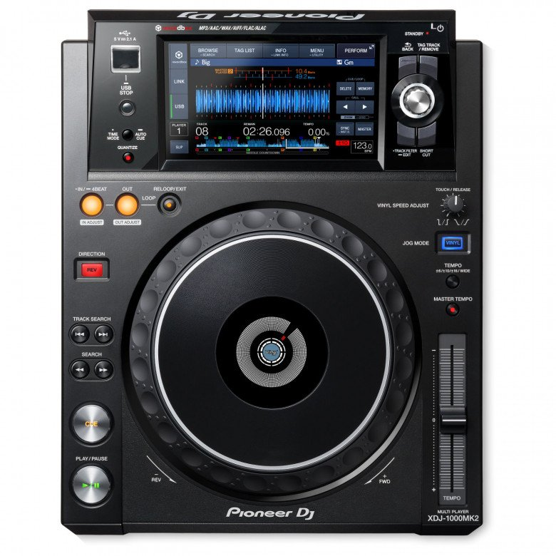 Lettore Pioneer XDJ-1000MK2 Touch Screen USB