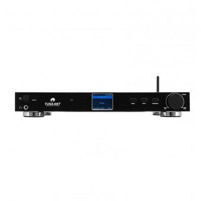 """Omnitronic TUNA-NET 19"""" Internet Radio con DAB+ e Bluetooth"""