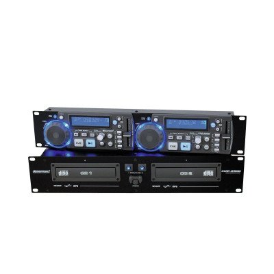 Lettore Cd Doppio Omnitronic Xmp 2800 Doppio CdMp3 Player