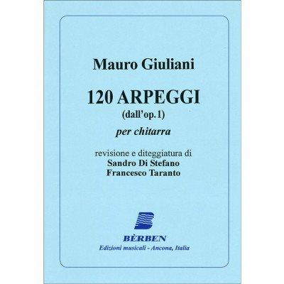 120 arpeggi dall'op.1 di Mauro Giuliani