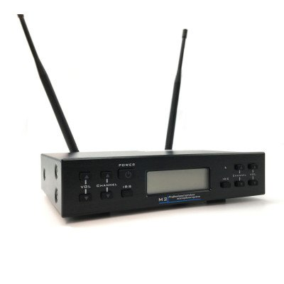 Renton UHF452 Radiomicrofono Doppio Uhf