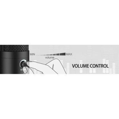 Renton ST300 USB Podcaster  Microfono Condensatore da studio