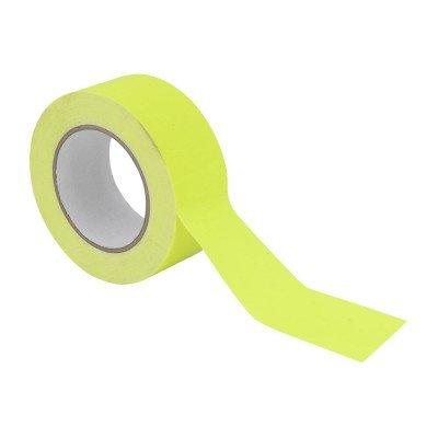Gaffa Tape 50mm X 25m Giallo Fluo UV- Reactive