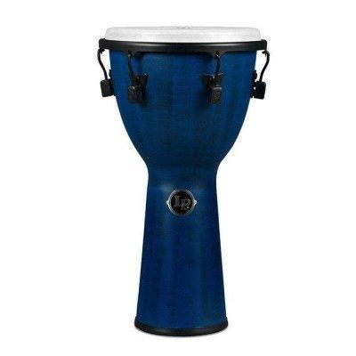 Djembe World Beat FX Mechanically Tuned, Blue,Latin Percussion,Latin Percussion