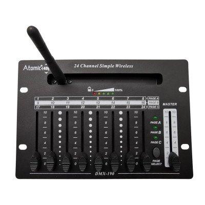Mixer Luci Dmx Control24 Wireless Atomic4Dj