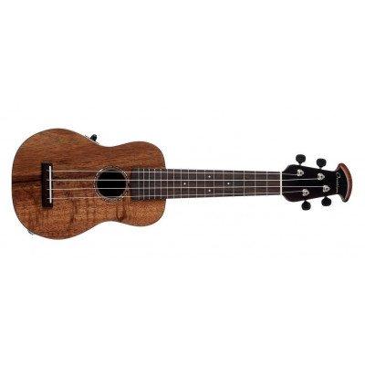 Ovation Ukulele Soprano elettro-acustico Natural Koa
