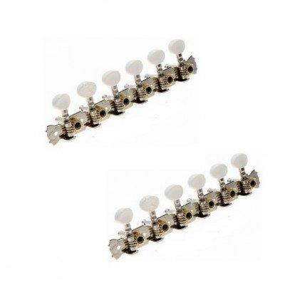 Coppia Meccaniche per Chitarra 12 corde - Nickel