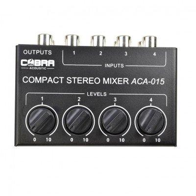 MicroMixer 4 Canali Mono