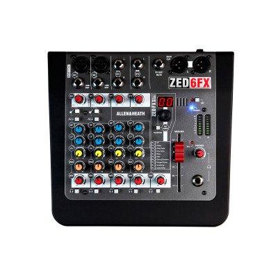 Allen & Heath ZED-6FX Mixer analogico con effetti