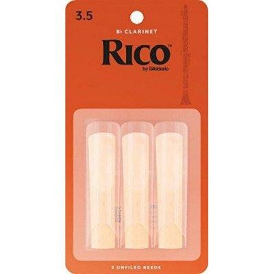 RICO Ancia per clarinetto Sib - Spessore 3.5 - Confezione da 3
