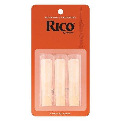 RICO Ancia per Sax Soprano - Spessore 2 - Confezione da 3