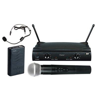 Atomic VHF 252C Radiomicrofono Combo Pack