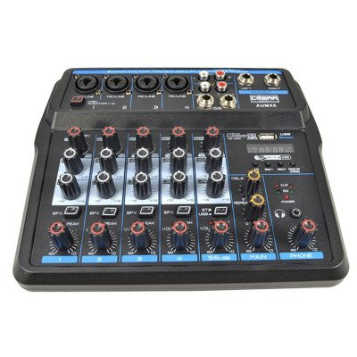 Mixer 6 Canali Bluetooth USB