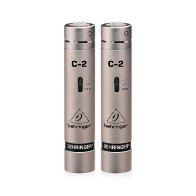 Behringer C-2 Matched Coppia di Microfoni Panoramici a Condensatore
