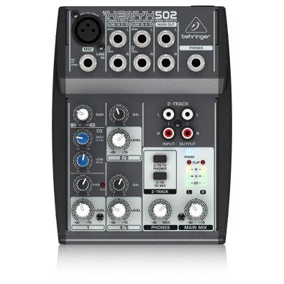 Behringer Xenyx 502 Mixer 5 ingressi