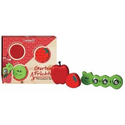 Campanilla Set Frutti del Giardino 3 Percussioni per bambini
