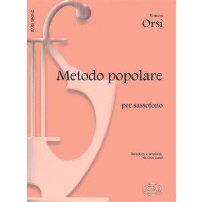 ORSI - Metodo Popolare Sassofono