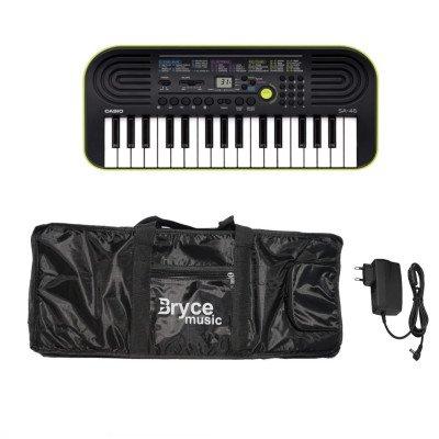 Tastiera Casio SA-47 Super Kit con Custodia imbottita e Alimentatore