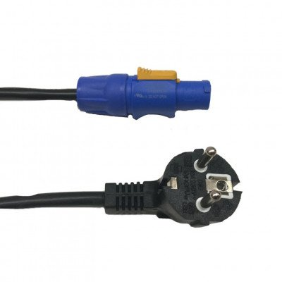 PowerCon Neutrik - Shucko power cable 3x1.5 10 m
