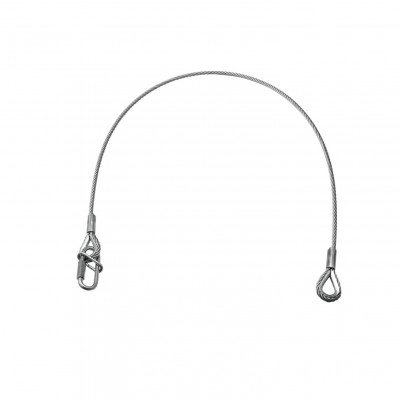 Steel Rope - Cavo Sicurezza - L. 60cm Safety Wire 35Kg