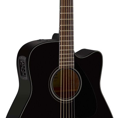 Yamaha FGX800C Chitarra Acustica Elettrificata Black