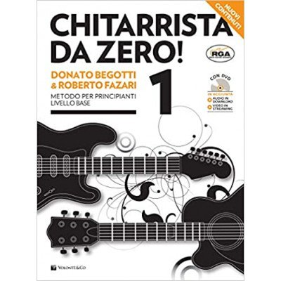 Chitarrista da Zero 1 parte - Begotti e Fazari + DVD o streaming Video