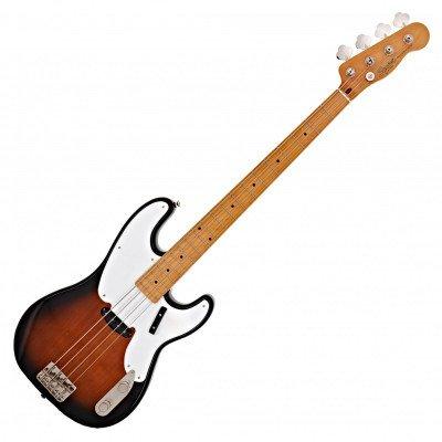 Fender Classic Vibe '50s Precision Basso Maple Fingerboard, 2-Color Sunburst