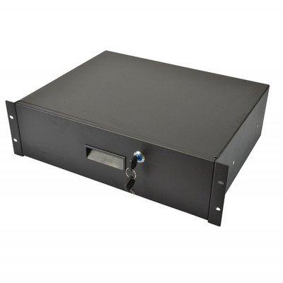Cassetto Rack 3 unità con Serratura