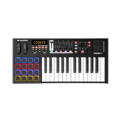 M-Audio Code 25 Black Tastiera Controller MIDI/USB
