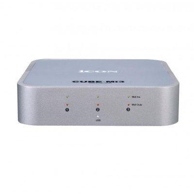 ICON CUBEMI 3 Interfaccia MIDI USB 2.0 con 3 In / 3 Out - Bus powered