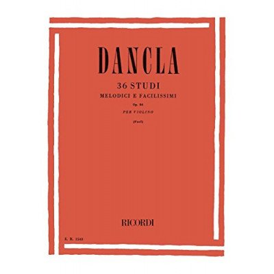 Dancla 36 Studi melodici e facilissimi Op. 84 - Violino