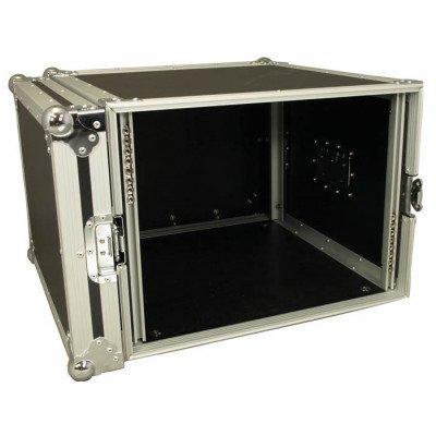 Cobra Rack case. 8U  9/10mm plywood. Profondità: 520mm.