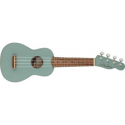 Fender Venice Soprano Uke   Sonic Gray