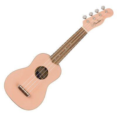 Ukulele Soprano Fender Venice Shell Pink