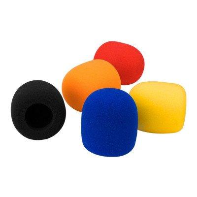 Filtri anti-vento per microfoni gelato 5 pezzi | Multicolor