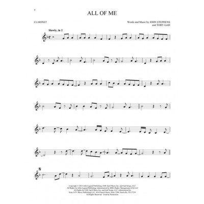 Le prime 50 canzoni da suonare con il clarinetto.First 50 Songs You Should Play onthe Clarinet