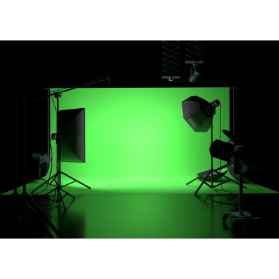 Atomic Pro Fondale fotografico Green Screen 4 x 6 m
