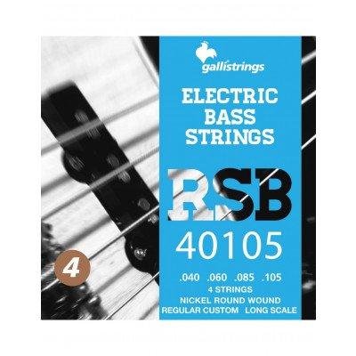 Corde Basso Elettrico RSB40105 4 strings Medium