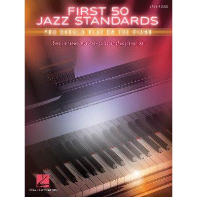 50 Standard Jazz da suonare al pianoforte.First 50 Jazz Standards YouShould Play on Piano