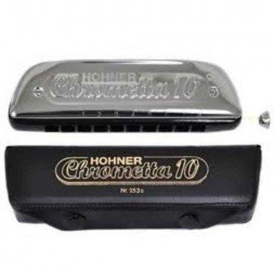 Hohner Chrometta Armonica Cromatica 10 Do 253/40 C