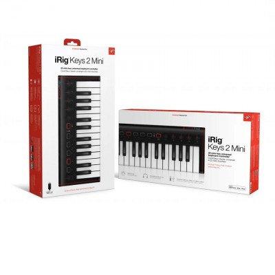 iRig Keys 2 MINI - Tastiera MIDI/Controller universale con 25 tasti mini