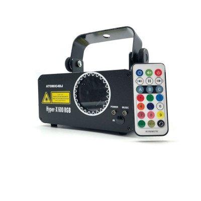 Laser Hyper-X 600 RGB Atomic4Dj