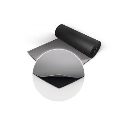 Double Linoleum Pavimento Nero/Grigio Metro Lineare (2 Metri quadrati)