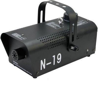 Macchina del Fumo N19 con Comando, Nero