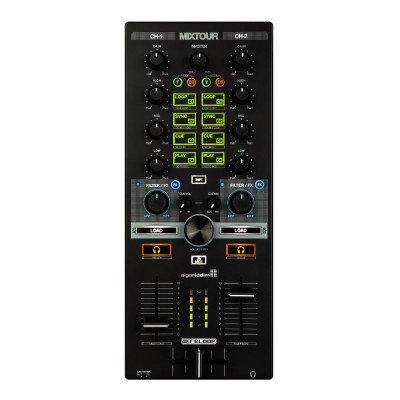Reloop Mixtour Reloop MIXTOUR controller DJ multipiattaforma portatile per DJAY 2 di Algoriddim.